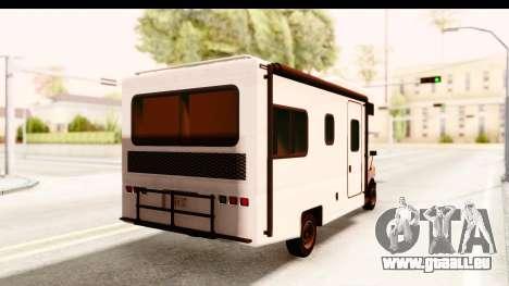 GTA 5 Camper pour GTA San Andreas laissé vue