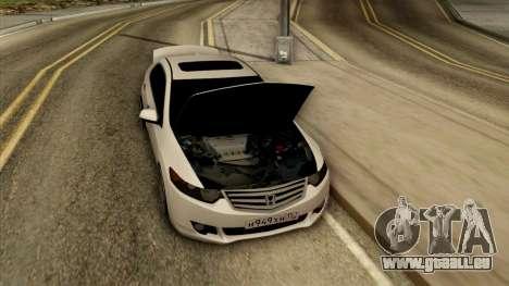 Honda Accord für GTA San Andreas Rückansicht
