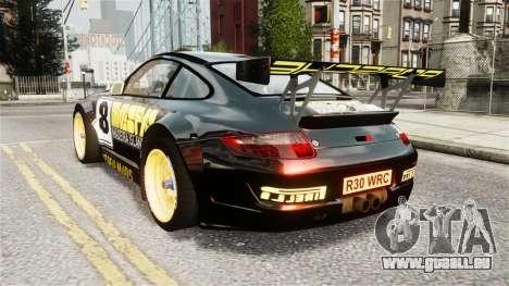Porsche Rallye Vespas 911 GT3 RSR für GTA 4 linke Ansicht