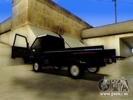 Mitsubishi Colt L300 Pickup für GTA San Andreas zurück linke Ansicht