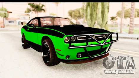 Dodge Challenger F&F 7 pour GTA San Andreas