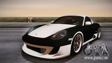 Ruf RK Coupe (987) 2007 IVF pour GTA San Andreas roue