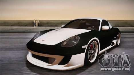 Ruf RK Coupe (987) 2007 HQLM pour GTA San Andreas vue de droite