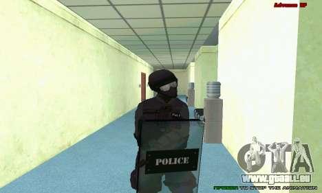 La peau de SWAT GTA 5 (PS3) pour GTA San Andreas neuvième écran