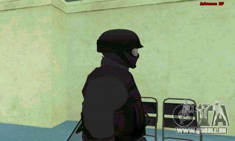 La peau de SWAT GTA 5 (PS3) pour GTA San Andreas cinquième écran