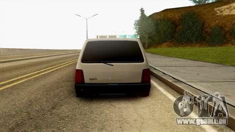 VAZ 1111 pour GTA San Andreas vue arrière