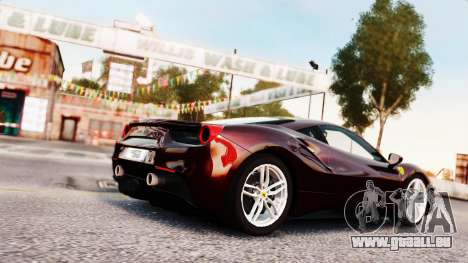 Ferrari 488 GTB 2016 pour GTA 4 est un côté