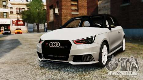 Audi S1 Quattro 2015 pour GTA 4