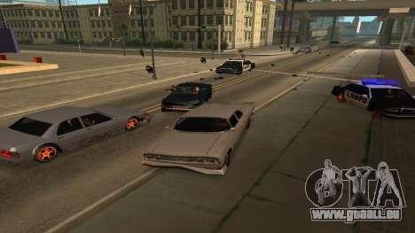 Cheetah Mod v1.1 pour GTA San Andreas deuxième écran
