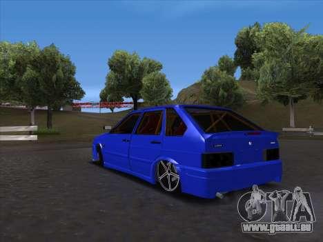 VAZ 2114 Sport pour GTA San Andreas vue de droite