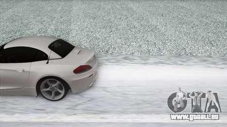 BMW Z4 pour GTA San Andreas vue arrière