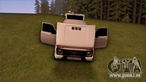 VAZ 2121 pour GTA San Andreas vue de côté