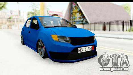Dacia Sandero 2013 pour GTA San Andreas