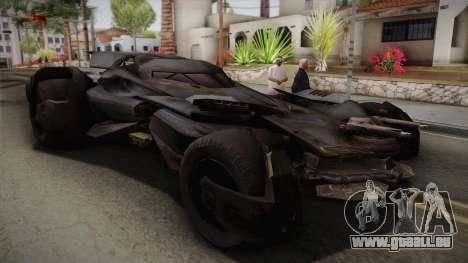 Batman VS Superman Batmobile pour GTA San Andreas