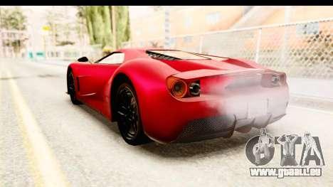 GTA 5 Vapid FMJ IVF für GTA San Andreas linke Ansicht