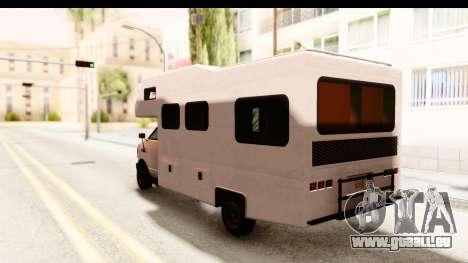 GTA 5 Camper pour GTA San Andreas vue de droite