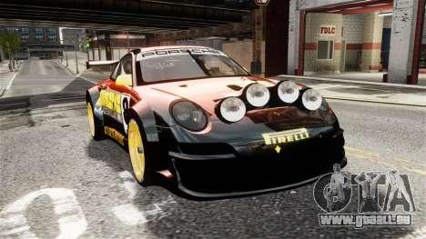 Porsche Rallye Vespas 911 GT3 RSR für GTA 4 rechte Ansicht