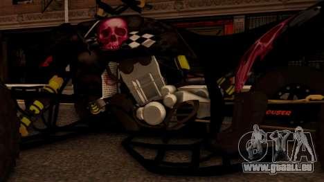 Quad Graphics Skull für GTA San Andreas Innenansicht