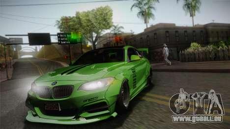 BMW M235i 69Works pour GTA San Andreas vue de côté