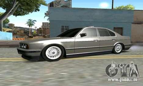 BMW 535 pour GTA San Andreas laissé vue