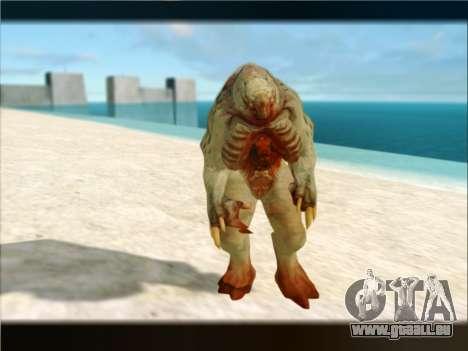Berzerker from DOOM 3 pour GTA San Andreas cinquième écran
