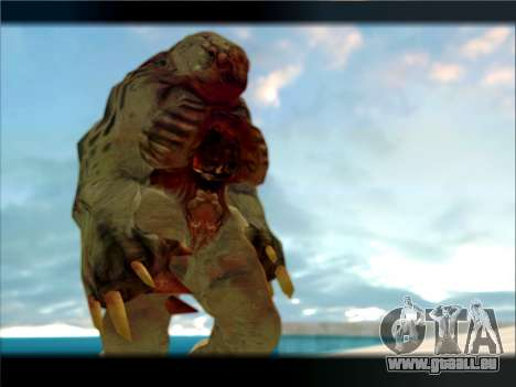 Berzerker from DOOM 3 pour GTA San Andreas troisième écran