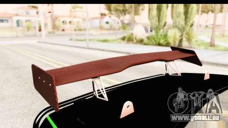 Dodge Challenger F&F 7 pour GTA San Andreas vue de côté