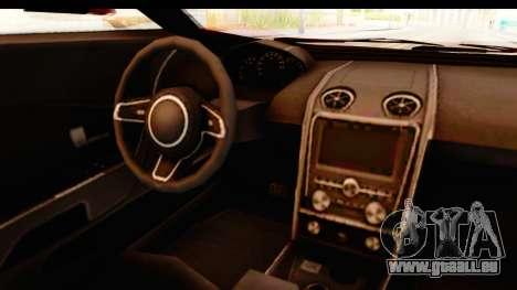GTA 5 Vapid FMJ IVF pour GTA San Andreas vue intérieure