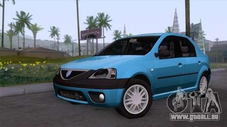 Dacia Logan Prestige 1.6L 16V pour GTA San Andreas