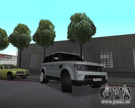 Range Rover Armenian pour GTA San Andreas