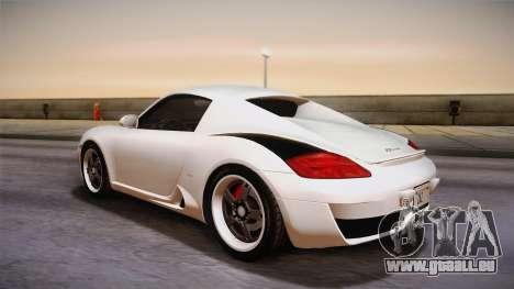 Ruf RK Coupe (987) 2007 HQLM pour GTA San Andreas laissé vue