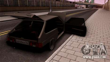 VAZ 2108 für GTA San Andreas obere Ansicht