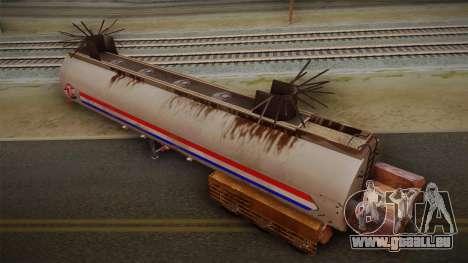 Mack R600 v2 Trailer für GTA San Andreas zurück linke Ansicht