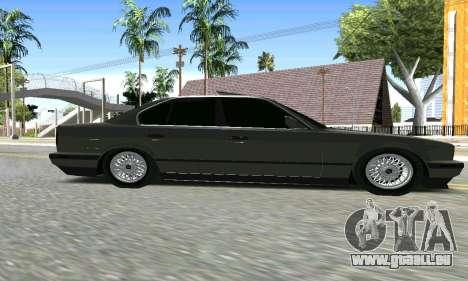 BMW 535 pour GTA San Andreas vue de droite