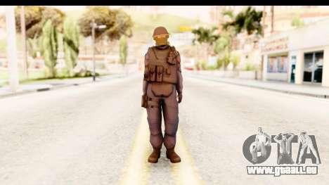 CS:GO - GIGN pour GTA San Andreas deuxième écran