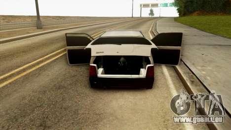 VAZ 1111 pour GTA San Andreas vue de côté