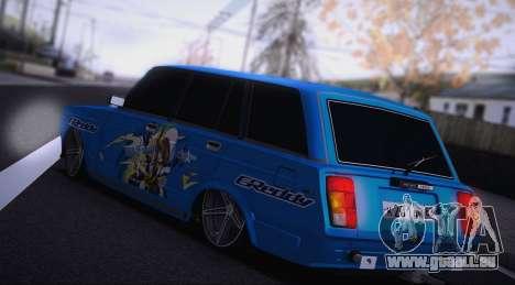 VAZ 2104 Anime für GTA San Andreas zurück linke Ansicht