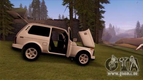 VAZ 2121 für GTA San Andreas Unteransicht