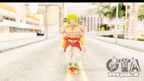Dragon Ball Xenoverse Broly SSJ2 für GTA San Andreas zweiten Screenshot