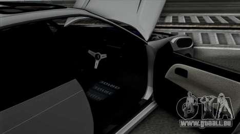 Toyota Mark 2 pour GTA San Andreas vue arrière