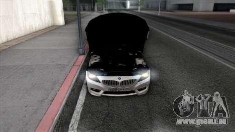 BMW Z4 pour GTA San Andreas roue