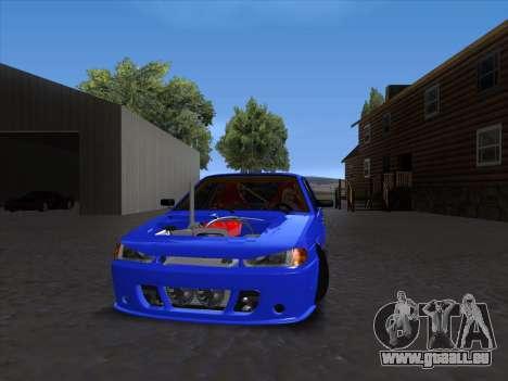 VAZ 2114 Sport pour GTA San Andreas laissé vue