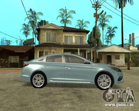 Hyundai Sonata Armenian für GTA San Andreas linke Ansicht