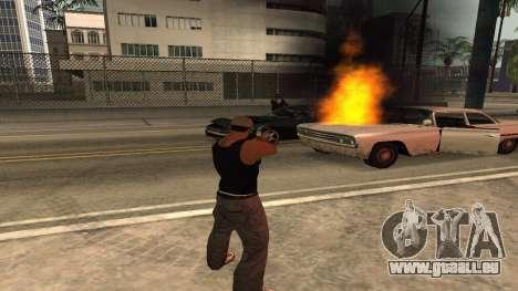 Cheetah Mod v1.1 pour GTA San Andreas cinquième écran