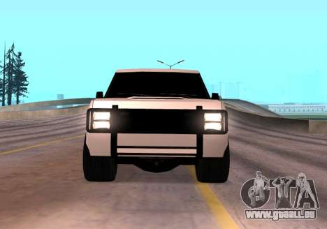 Huntley Rover pour GTA San Andreas vue de droite
