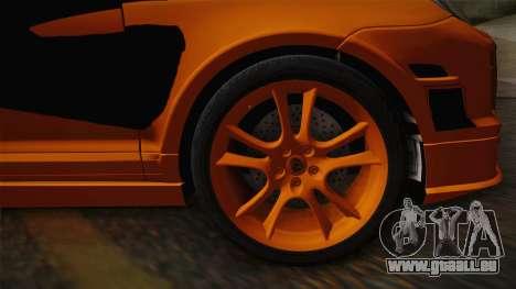 Porsche Cayenne 2007 Tuning pour GTA San Andreas sur la vue arrière gauche