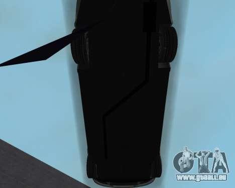 Chevrolet Aveo Armenian pour GTA San Andreas vue de dessous