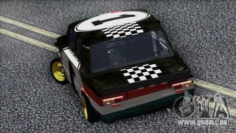 VAZ 2101 est une Voiture de Course pour GTA San Andreas sur la vue arrière gauche