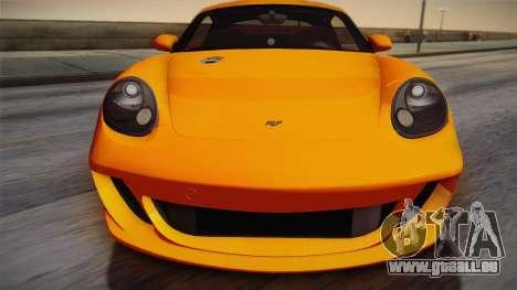 Ruf RK Coupe (987) 2007 IVF für GTA San Andreas rechten Ansicht