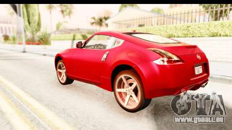 Nissan 370Z 2010 für GTA San Andreas linke Ansicht